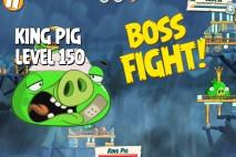 Angry Birds Under Pigstruction King Pig Level 150 Boss Fight Walkthrough