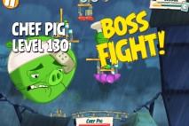 Angry Birds Under Pigstruction Chef Pig Level 130 Boss Fight Walkthrough
