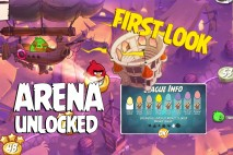 Angry Birds Under Pigstruction First Look at the Arena Tournaments