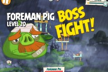 Angry Birds Under Pigstruction Foreman Pig Level 20 Boss Fight Walkthrough