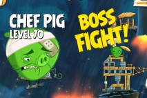 Angry Birds Under Pigstruction Chef Pig Level 70 Boss Fight Walkthrough