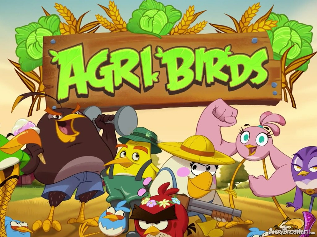 Agri Birds A Brand New Angry Birds Game Coming Summer