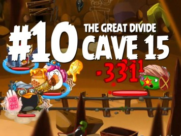 Angry Birds Epic Cave 15 Level 10 Featured Image
