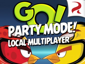 Angry Birds GO Party Mode Local Multiplayer Over WiFi Featured Image