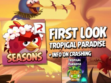 Angry Birds Seasons Tropigal Paradise First Look Featured Image