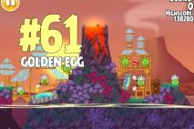 Angry Birds Seasons Tropigal Paradise Golden Egg #61 Walkthrough
