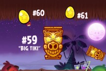 Angry Birds Seasons Tropigal Paradise Golden Eggs Walkthroughs