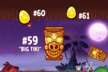 Angry Birds Seasons Tropigal Paradise Golden Eggs Walkthroughs