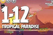 Angry Birds Seasons Tropigal Paradise Level 1-12 Walkthrough