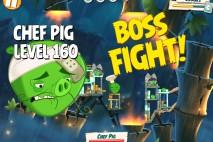 Angry Birds Under Pigstruction Chef Pig Level 160 Boss Fight Walkthrough
