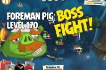 Angry Birds Under Pigstruction Foreman Pig Level 170 Boss Fight Walkthrough
