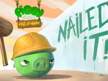 Piggy Tales Pigs At Work Episode 1 Nailed It