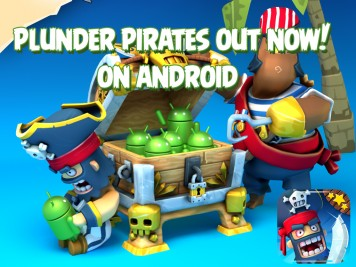 Rovio Stars Plunder Pirates for Android