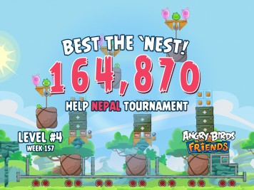 Angry Birds Friends Best the Nest Week 8