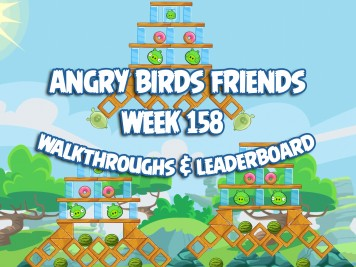 Angry Birds Friends Tournament Week 158 Feature