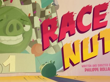 Piggy Tales Pigs at Work Episode 7 Race Nut