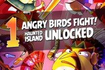 Angry Birds Fight! – Sweets Island 4-5 Complete Unlocked Haunted Island Walkthrough Part 1