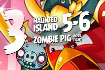 Angry Birds Fight! – Haunted Island 5-6 + Monster Zombie Pig Battle – Part 3