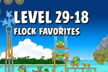 Angry Birds Flock Favorites Level 29-18 Walkthrough