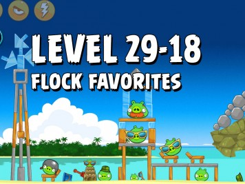 Angry Birds Flock Favorites Level 29-18