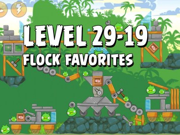 Angry Birds Flock Favorites Level 29-19
