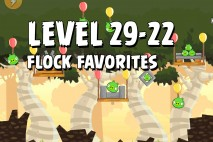 Angry Birds Flock Favorites Level 29-22 Walkthrough