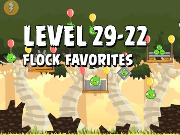 Angry Birds Flock Favorites Level 29-22