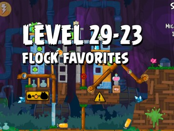 Angry Birds Flock Favorites Level 29-23