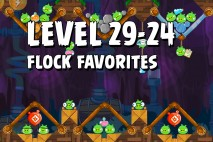 Angry Birds Flock Favorites Level 29-24 Walkthrough
