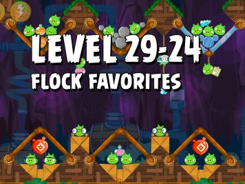 Angry Birds Flock Favorites Level 29-24