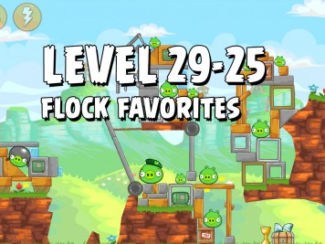 Angry Birds Flock Favorites Level 29-25