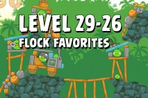 Angry Birds Flock Favorites Level 29-26 Walkthrough