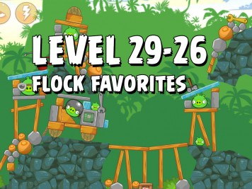 Angry Birds Flock Favorites Level 29-26