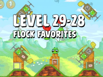 Angry Birds Flock Favorites Level 29-28