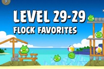 Angry Birds Flock Favorites Level 29-29 Walkthrough