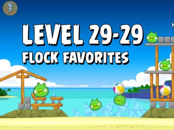 Angry Birds Flock Favorites Level 29-29
