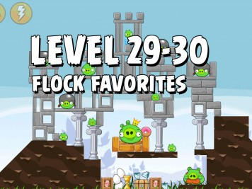 Angry Birds Flock Favorites Level 29-30