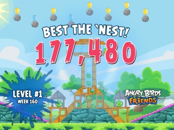 Angry Birds Friends Best the Nest Challenge Week 11