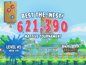 Angry Birds Friends Best the Nest Week 10 Challenge