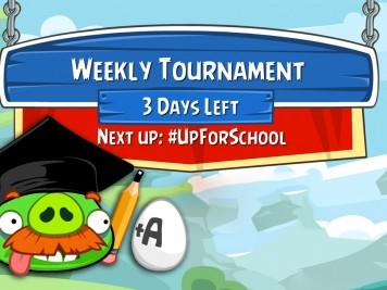 Angry Birds Friends Special UpForSchool Tournament