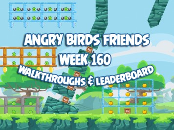 Angry Birds Friends Tournament Week 160 Feature Image