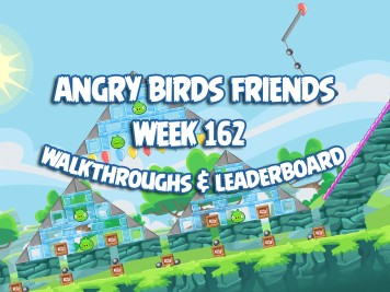 Angry Birds Friends Tournament Week 162 Feature Image