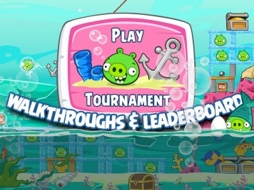 Angry Birds Friends Underwater Special tournament Feature Image