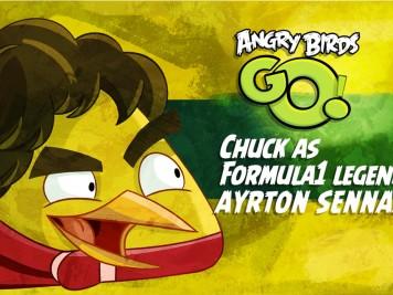 Angry Birds Go Ayrton Senna Update Teaser