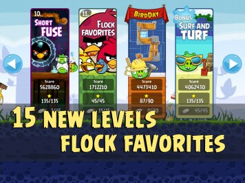 Angry Birds Original Flock Favorites Update 510 Image