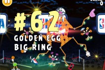 Angry Birds Seasons Ham Dunk Golden Egg #62 Walkthrough