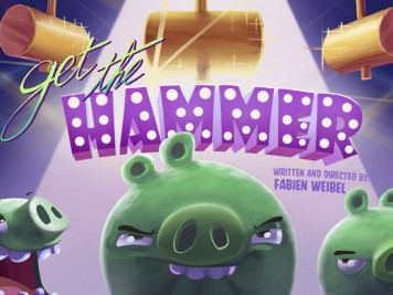 Piggy Tales Pigs At Work Episode 9 Get the Hammer Feature Image
