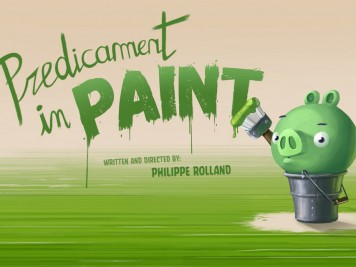 Piggy Tales Pigs at Work Episode 8 Predicament in Paint