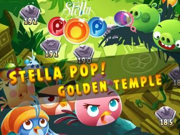 Stella Pop Bubble Shooter Golden Temple Update