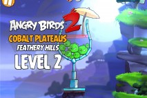 Angry Birds 2 Level 2 Cobalt Plateaus – Feathery Hills 3-Star Walkthrough